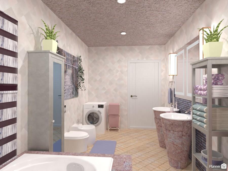 Ванная в пастельных тонах 4066354 by Ольга image