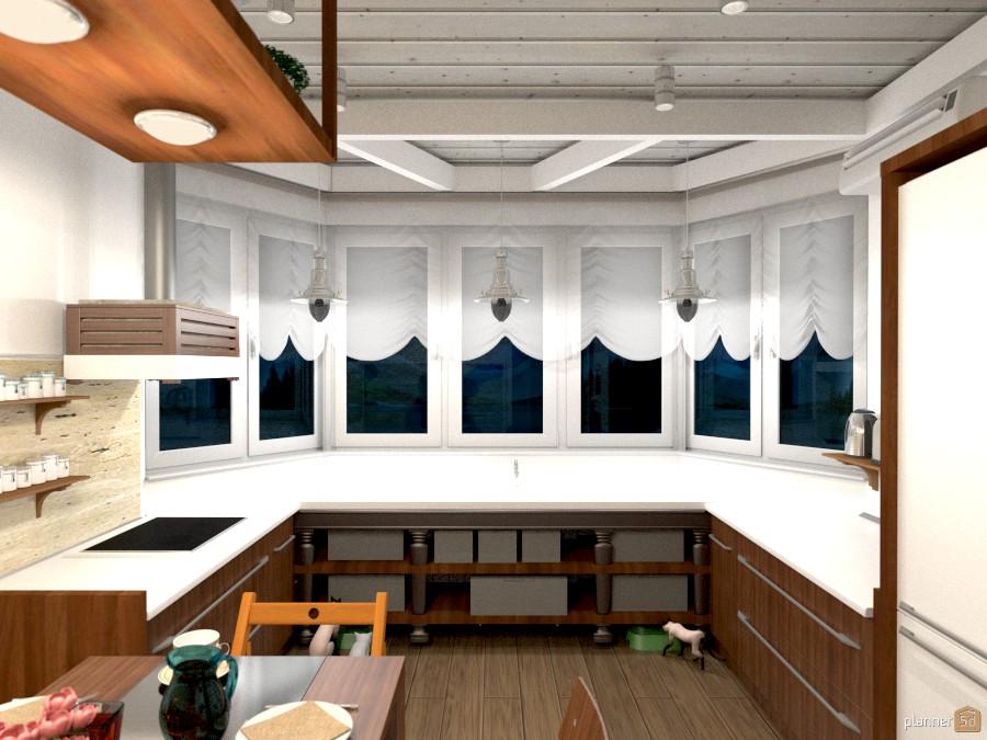 Дизайн кухни - Apartment ideas - Planner 5D