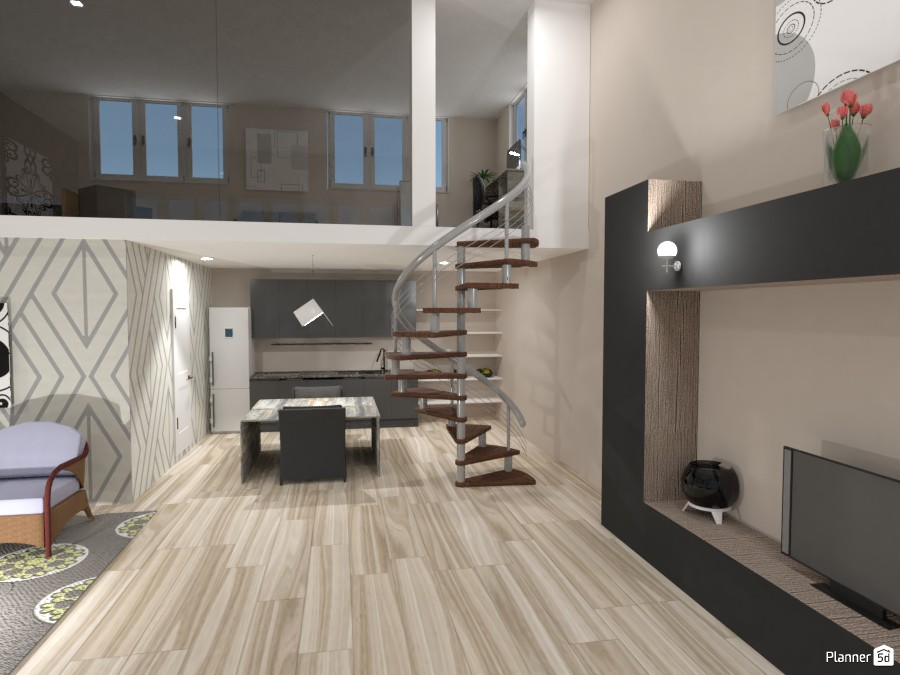Cozy Grey House: Main Areas 3691026 by Erin image