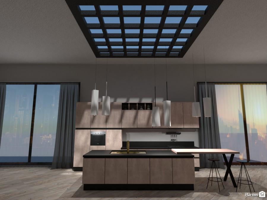 Cucina Moderna - Ideen für Ihr Haus - Planner 5D
