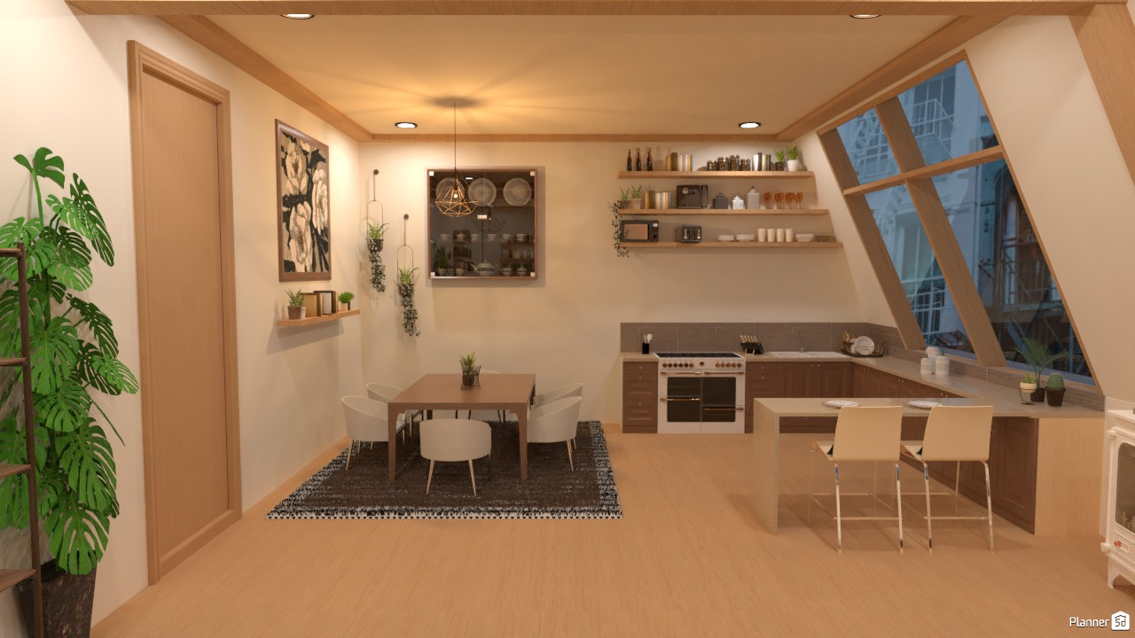 Comedor y cocina.. 4107570 by Hall Pat image