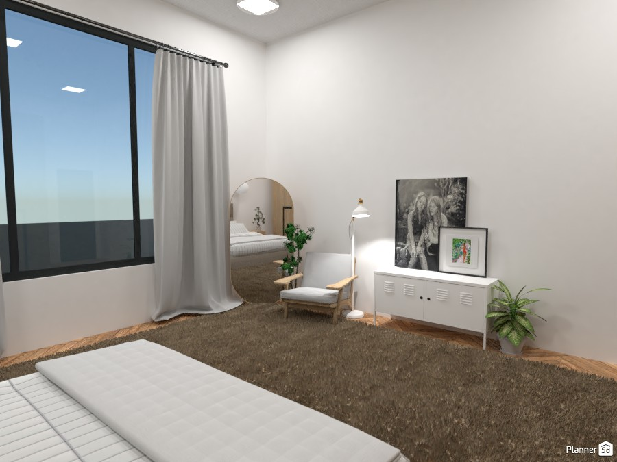 Scandinavian style modern Bedroom 4323683 by Ana G image