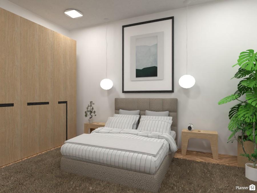 Scandinavian style modern Bedroom 4323687 by Ana G image
