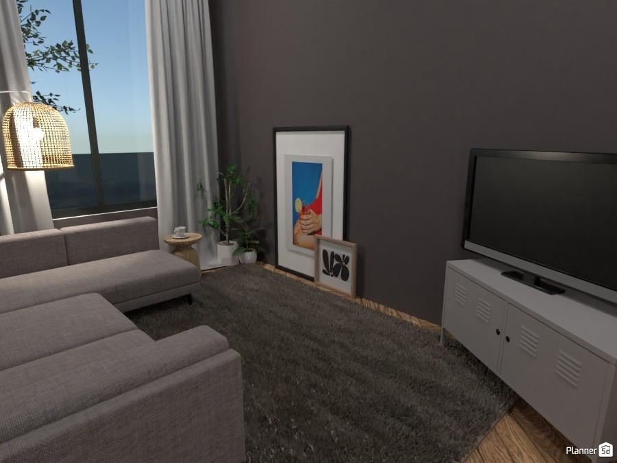 Scandinavian style modern TV room 4324142 by Ana G image