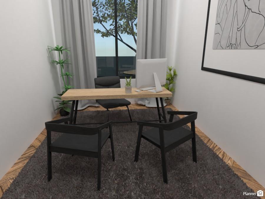 Scandinavian style modern office 4324143 by Ana G image