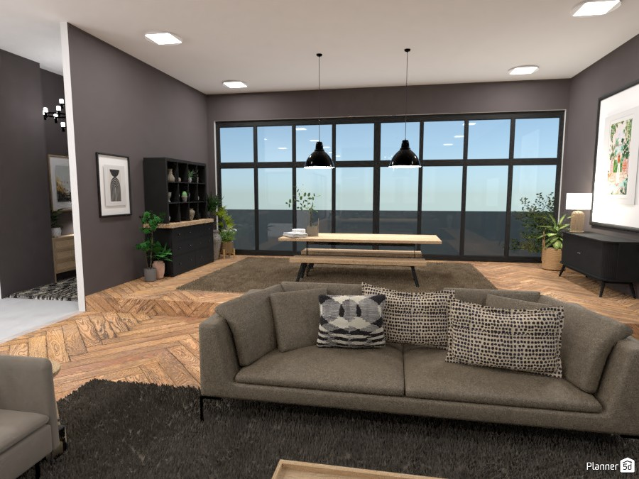 Scandinavian style modern Living room 4324969 by Ana G image