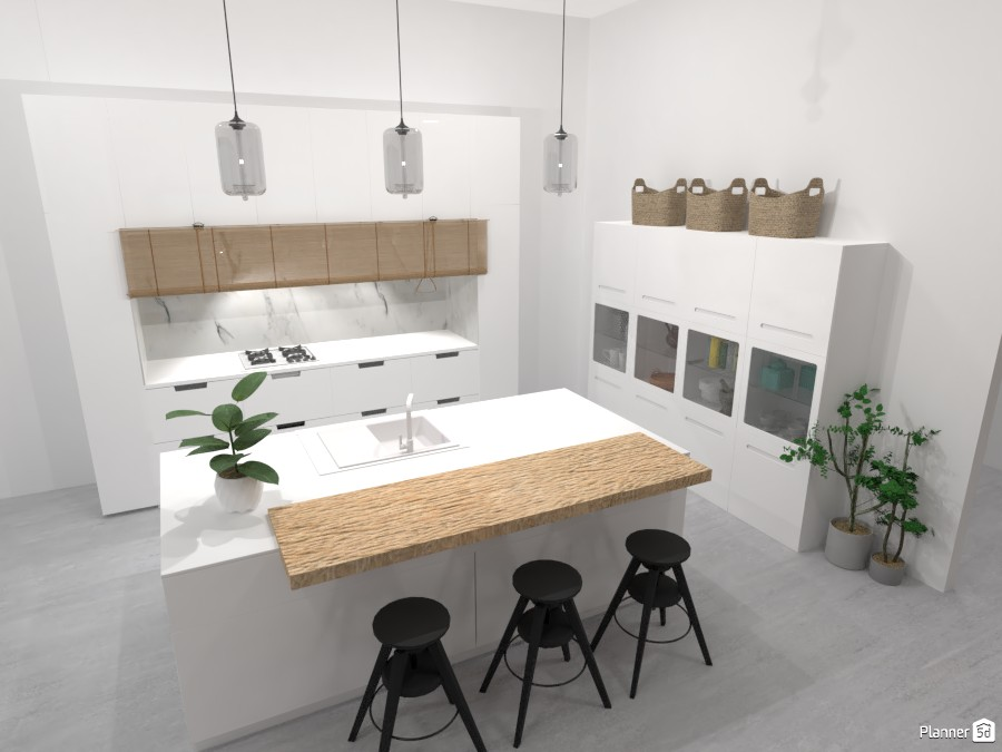 Scandinavian style modern Kitchen 4320392 by Ana G image