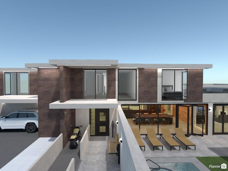 Casa moderna en la ciudad 3901834 by sara banegas image