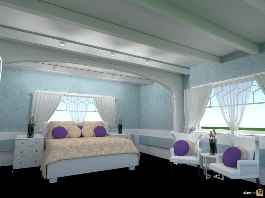 the blue bedroom 941045 by Joy Suiter image