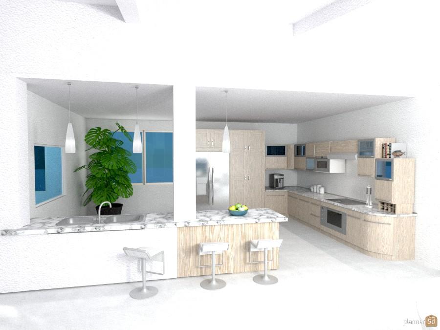 Villa Vacanze: Cucina (prospettiva) 1015322 by Micaela Maccaferri image