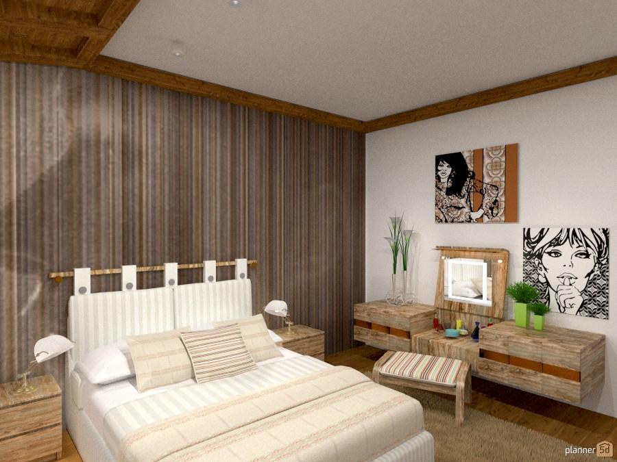 Idea letto. - Idee per appartamenti - Planner 5D