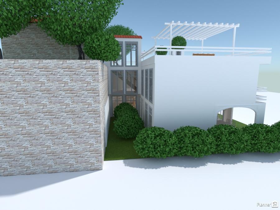 ideas house outdoor landscape ideas