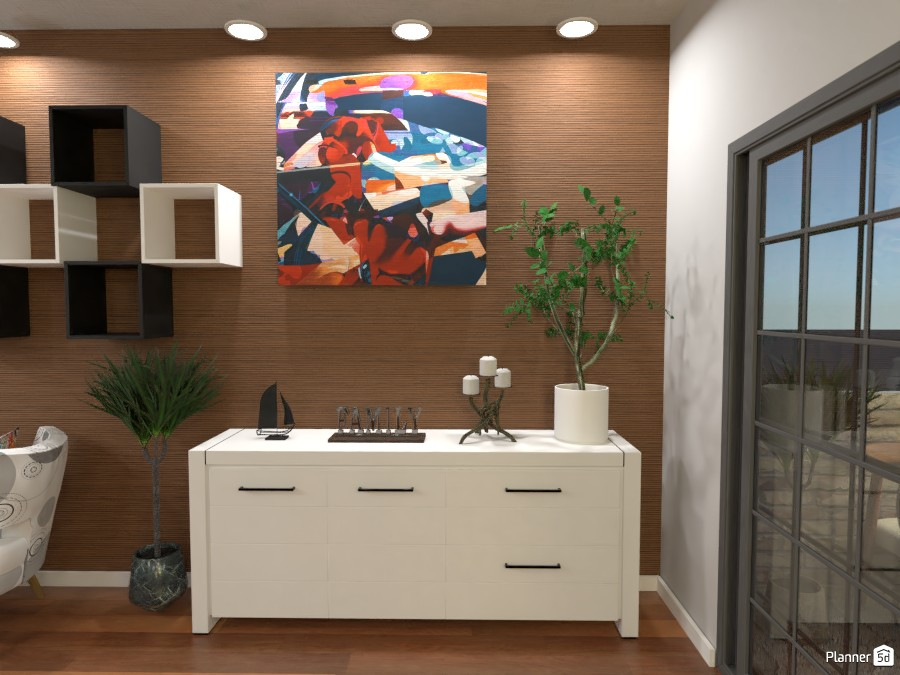 Dining and Living Room: Entrance 3761427 by Erin image