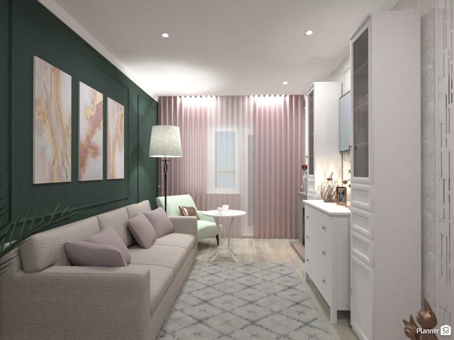 Неоклассика в гостиной (1) 3814277 by Ksenia image