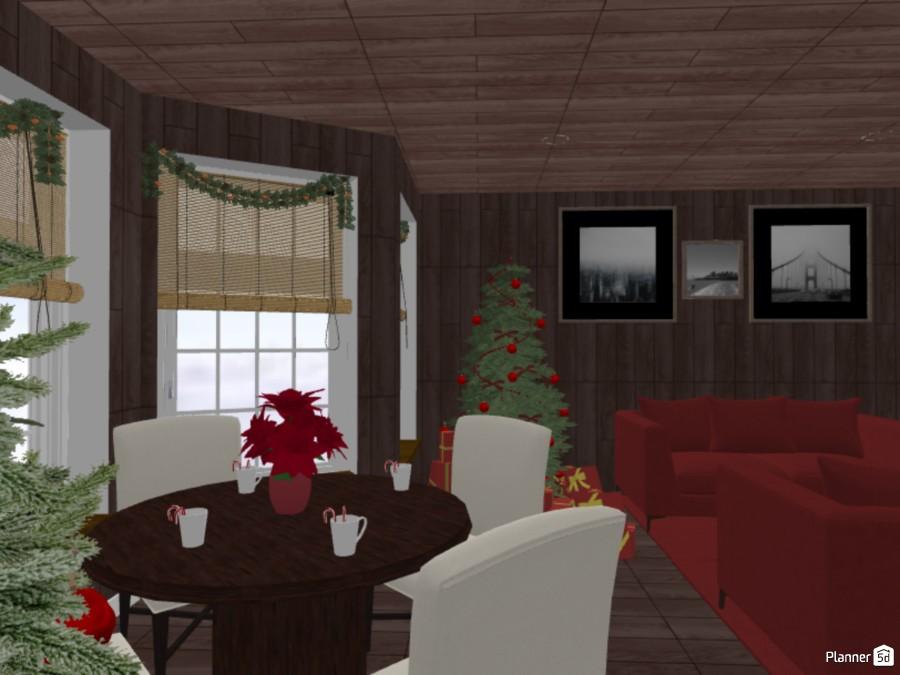 Christmas-y Living Room 84110 by Tessa image