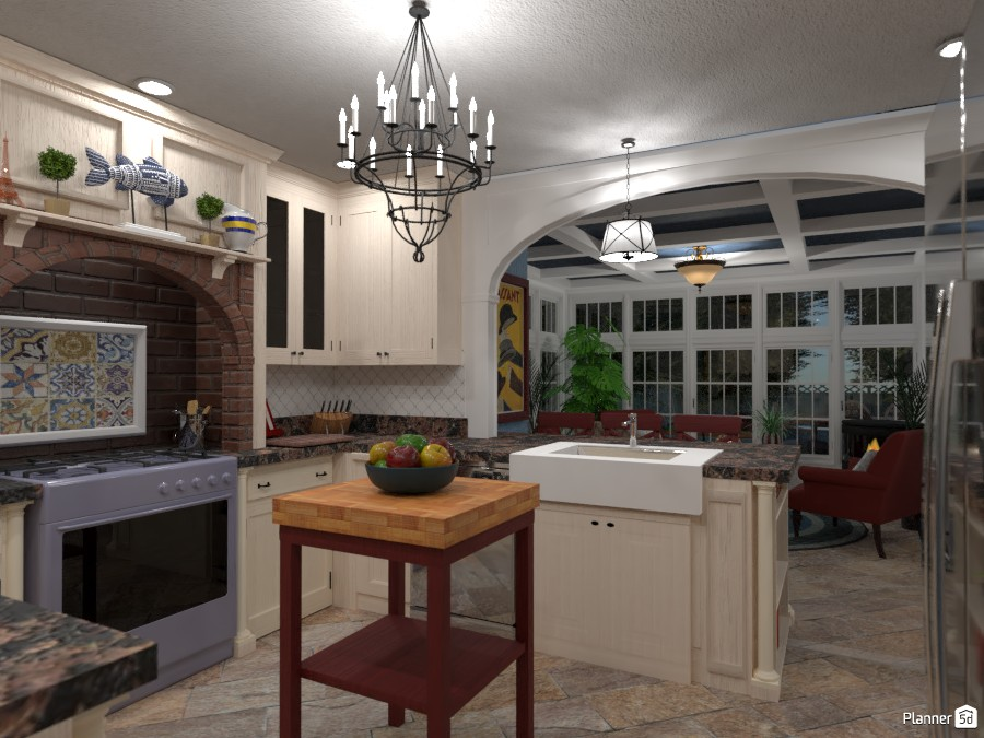 French Country Kitchen Remodel and Addition 3590369 by Kristin NM image