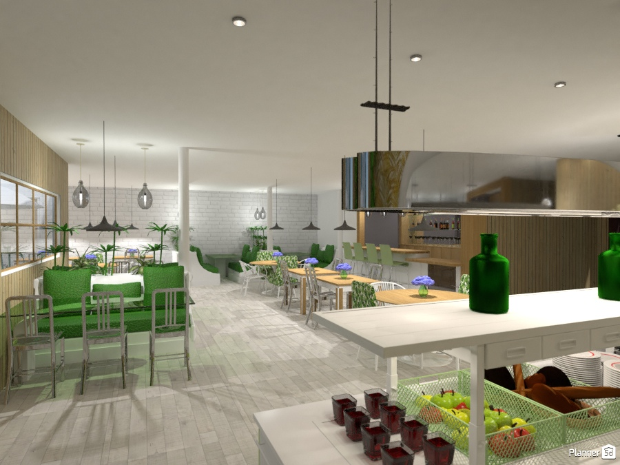 Restaurant Ideas Para Apartamentos Planner 5d