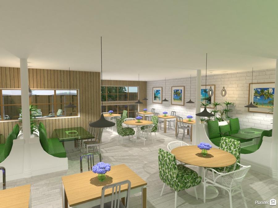 RESTAURANT - House ideas - Planner 5D on