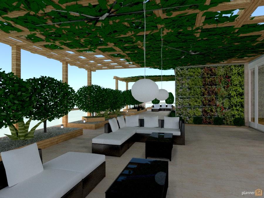 giardino verticale sul terrazza. - Apartment ideas - Planner 5D