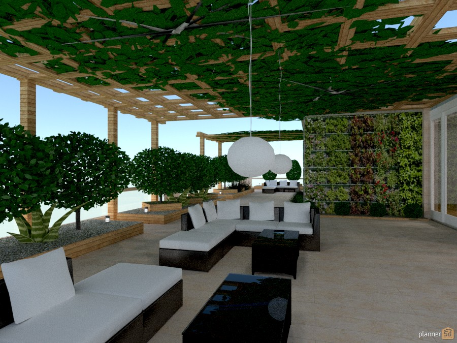 Giardino Verticale Sul Terrazza Apartment Ideas Planner 5d