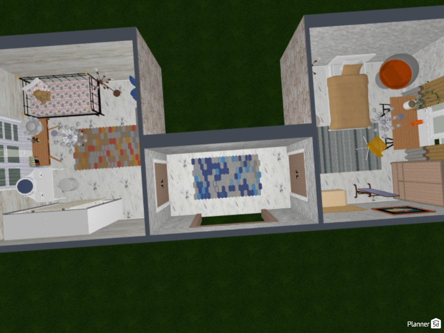 Two bedroom for sisters (or bffs!) 84104 by Tessa image