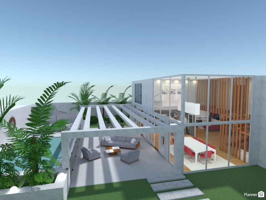 MODERN HOUSE BY M.SCK 73066 by M SECK image