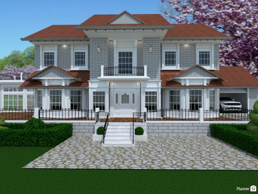 Casa in stile vittoriano house ideas planner 5d for Planner casa 3d