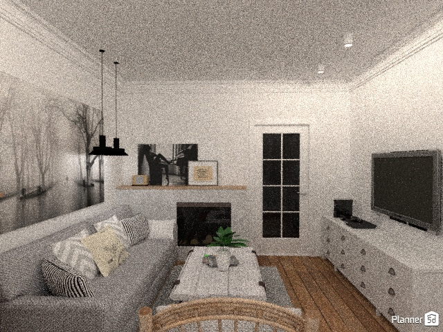 living room and kitchen 69013 by Елена image