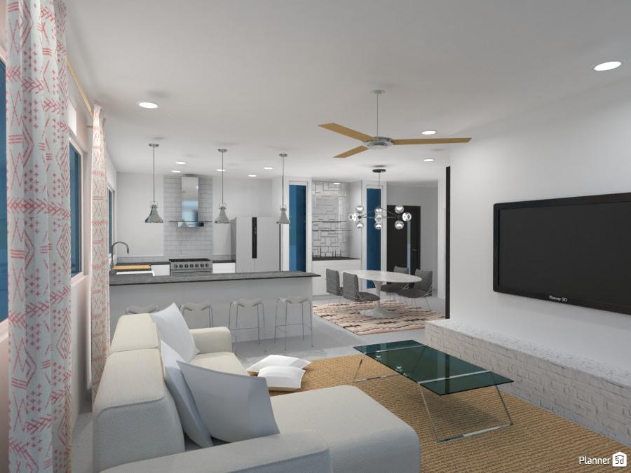 ideas living room kitchen dining room ideas