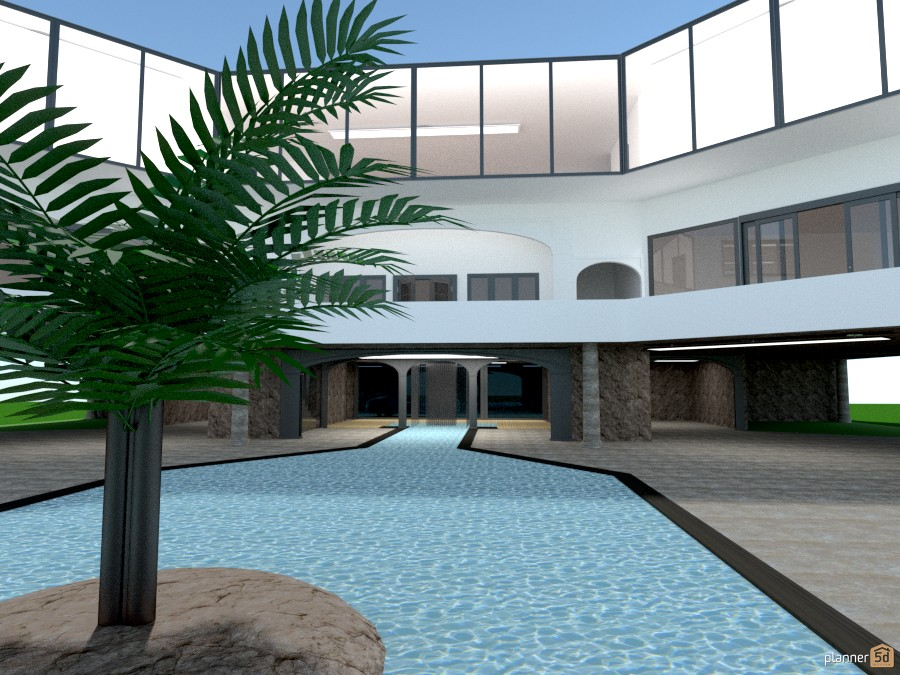 Villa Heights - Pool view (unfinished) 962555 by Hardy Home Design image