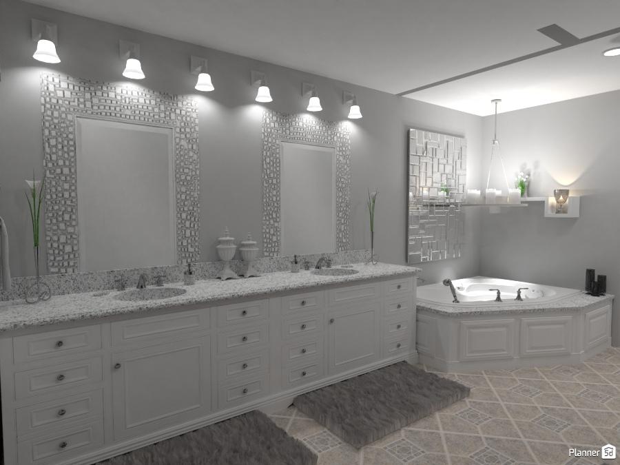 My home bathroom ideas planner 5d for Bathroom design 5d