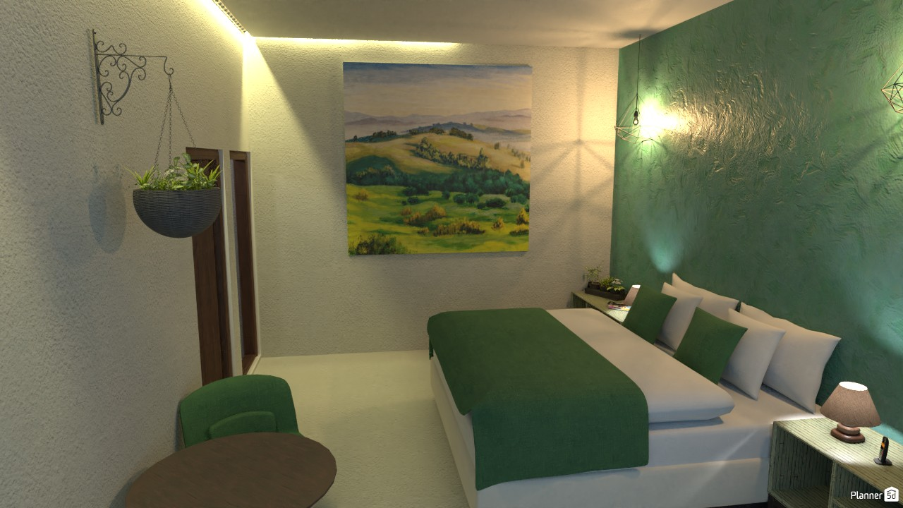 Bedroom of a luxury villa 3706409 by Junior Alves image
