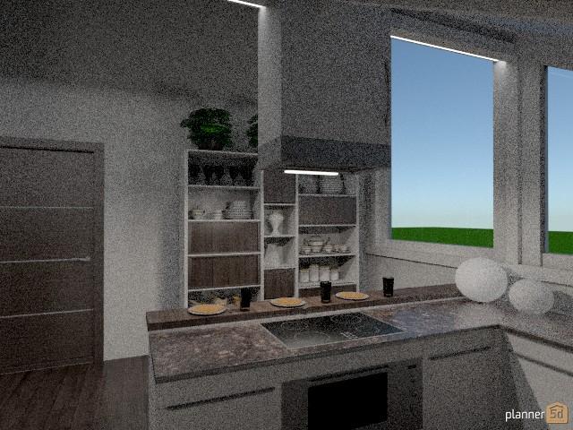 Cucina mansardata 62310 by Svetlana Baitchourina image