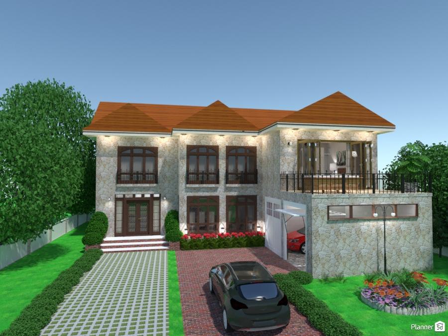 Casa colonial rustica house ideas planner d