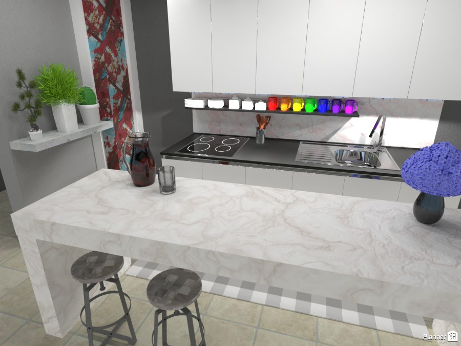 Bright Kitchen 3059264 by ESK image