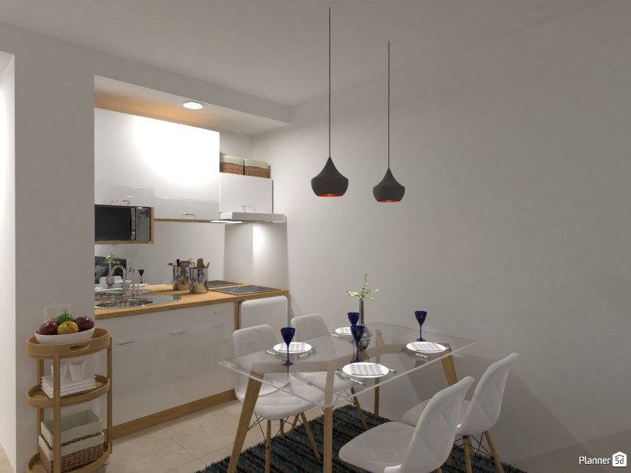 Student's Apartment (Kitchen) 3841636 by Lucija Marko image