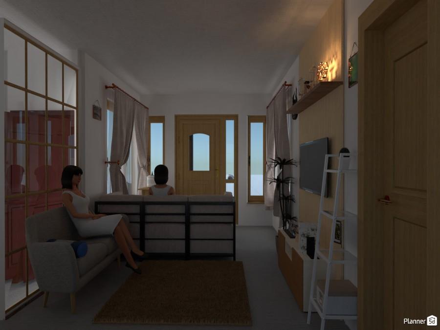 Minimalist Living Room 3390117 by artsy image