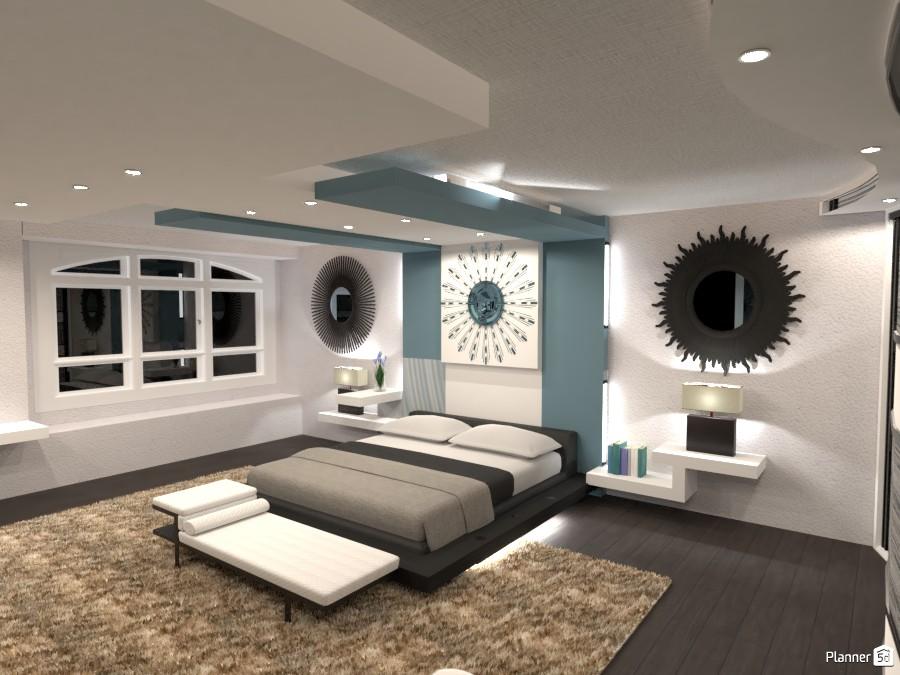 Modern bedroom! 4111396 by Huzaifah Al-Quraishi image