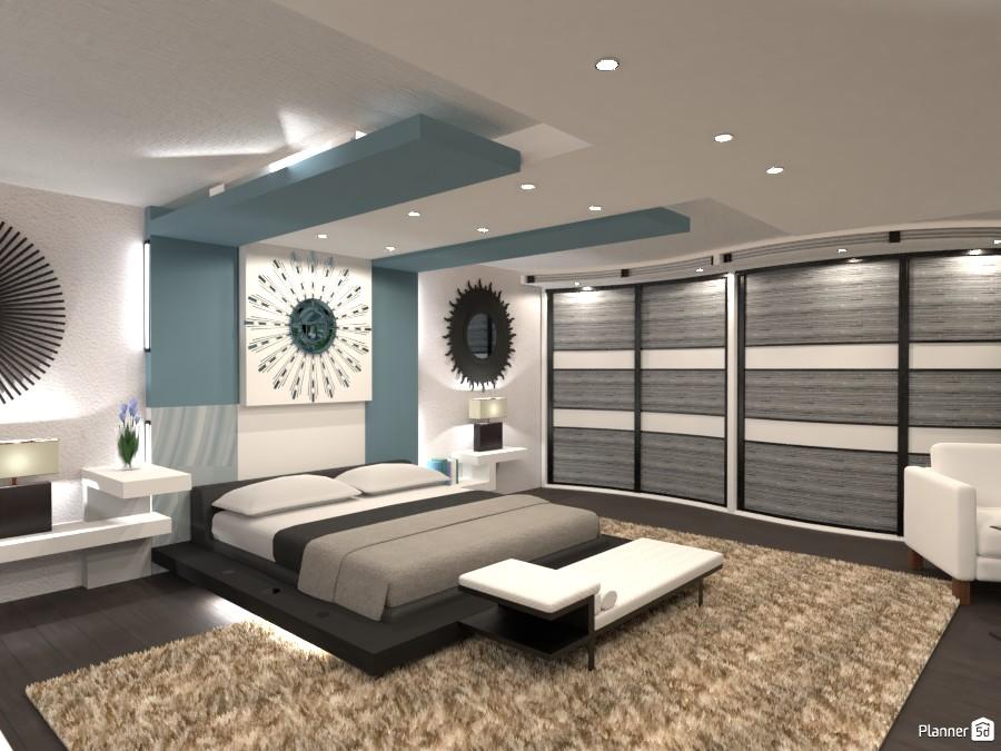 Modern bedroom! 4111401 by Huzaifah Al-Quraishi image