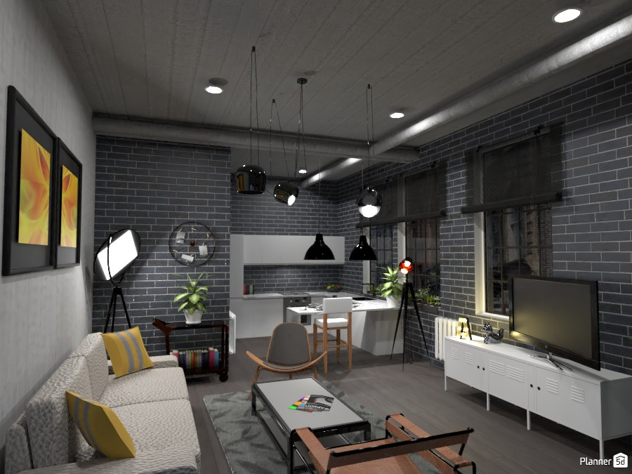 Loft industrial 4280413 by Remadi image