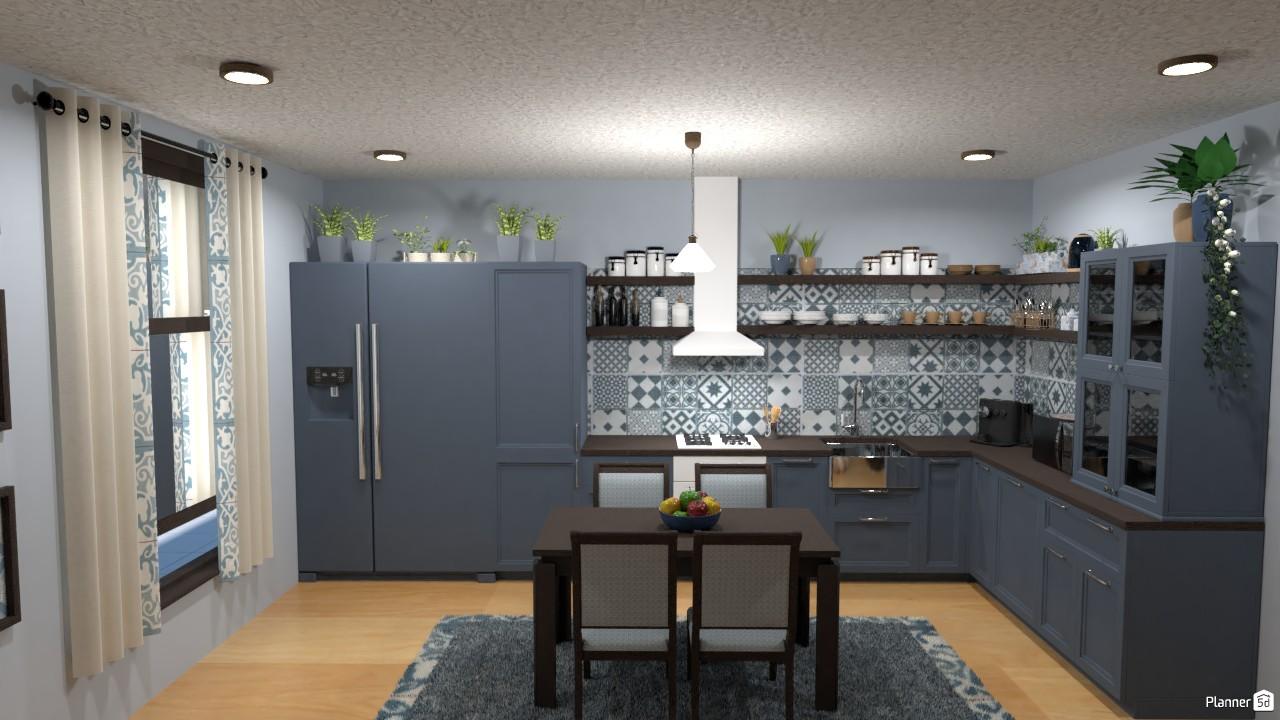 Cocina y comedor.. 4097681 by Hall Pat image