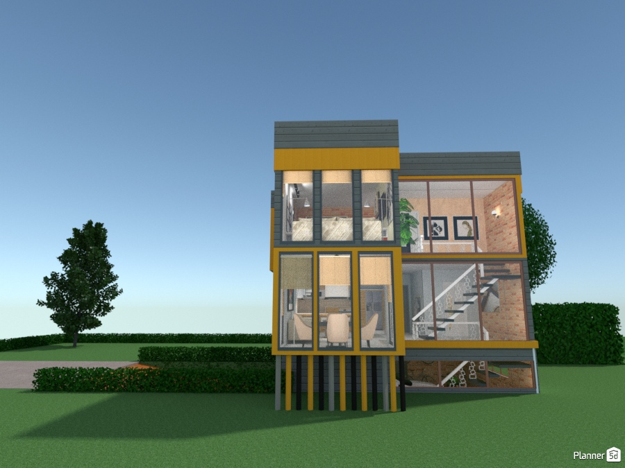 Modern Mansion 70731 by Micaela Maccaferri image