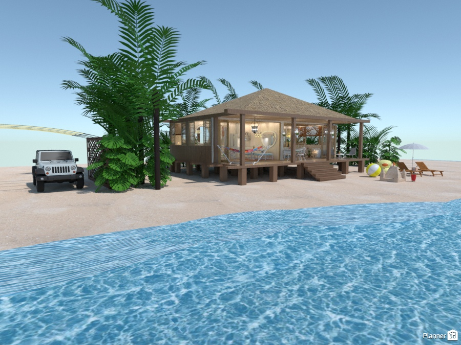 Familial Beach house 77778 by M SECK image