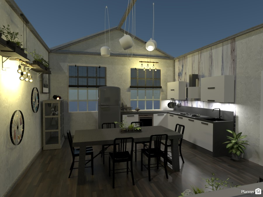 Contest Living room and Kitchen.  Kitchen 3554220 by Doggy (please vote) image