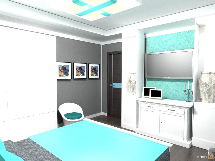 лофт в спальне 226395 by JULIA image