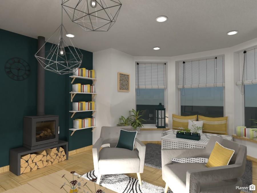 Scandinavian living room IV 3643585 by Elena Z image