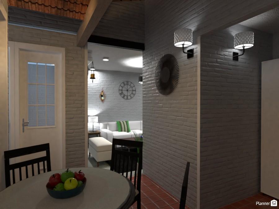 Casa Colonial dining room -Before- 3437515 by Ezequiel Marotta image