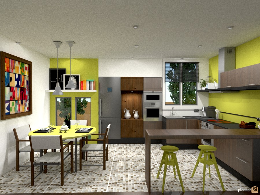 Modern House Brazil. - Ideas de decoración. - Planner 5D