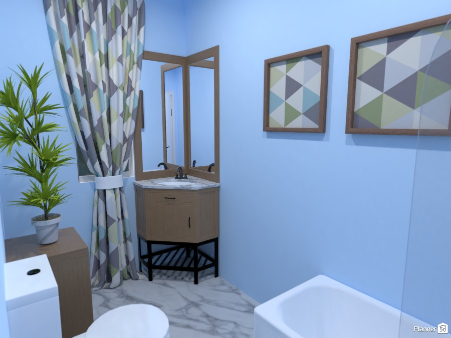 Round House: Bathroom. 3753864 by Potato chip image
