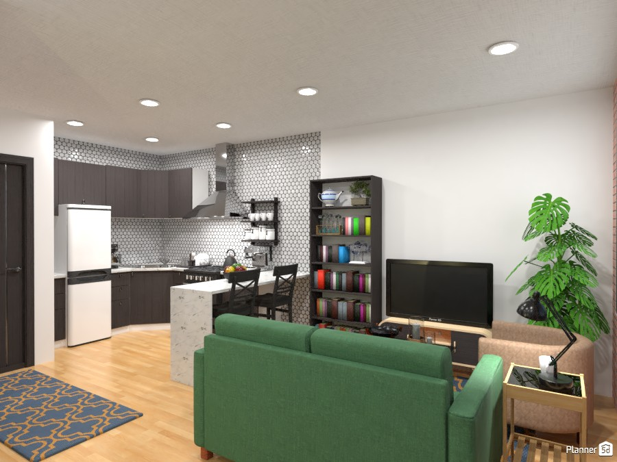 L Studio Living/Kitchen 4272378 by User 21013742 image